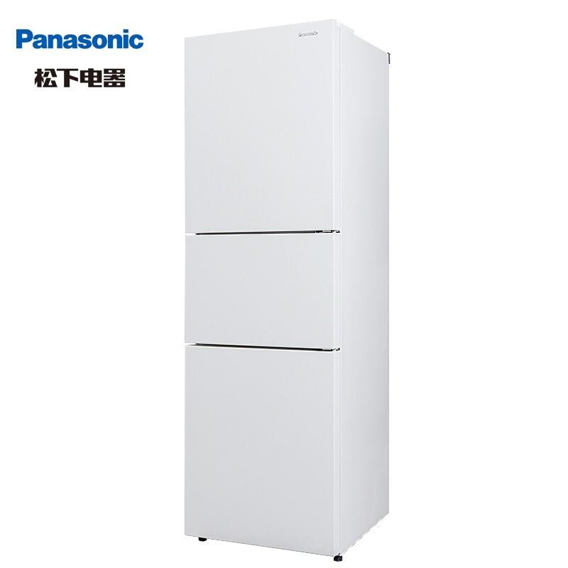Panasonic 松下 NR-EC30AP1-W 三门冰箱 303L