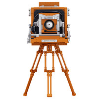 哲高  摄像机积木拼装模型 694颗粒
