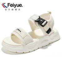 Feiyue. 飞跃 FSL-370N 女款魔术贴沙滩鞋