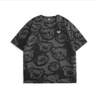 RESHAKE 后型格 MD207252  男士短袖T恤