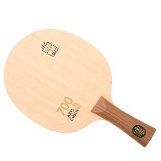 ROBESBON 瑞仕豹 DARKER 达克SPEED700Aryl-Carbon桧木芳碳纤维乒乓球底板乒乓球拍瑞仕豹 横拍