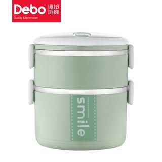 DEBO 德铂  双层保温饭盒 1700ml