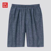 UNIQLO 优衣库 433107 男装轻型全棉短裤