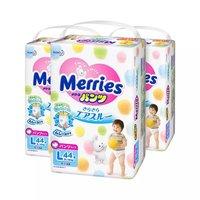88VIP:Merries 妙而舒 婴儿拉拉裤 L44片*3包