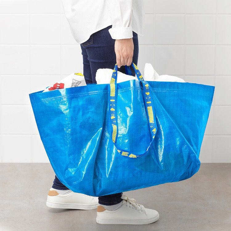 IKEA 宜家  折叠便携储物袋 中号 36L