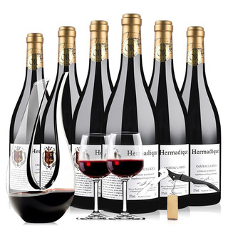 PLUS会员 : 菲特瓦 干红葡萄酒 拉洛嘉古堡系列 750ml*6 瓶