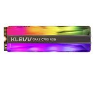 PLUS会员:KLEVV 科赋 C700 M.2 NVMe 固态硬盘 960GB