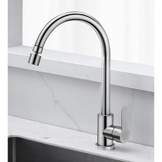 RODDEX 冷热厨房水龙头 升级360旋转 大弯管