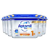 Aptamil 爱他美 母婴周年店庆:【直营】德国产爱他美白金双重HMO婴幼儿配方奶粉1+段1岁以上*6罐