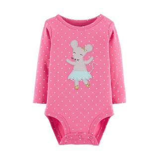 Carter's 孩特 婴儿连体衣长袖连体衣哈衣爬服新生儿衣服宝宝衣服包屁衣