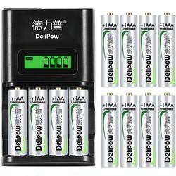 Delipow 德力普 液晶充电器+12节电池