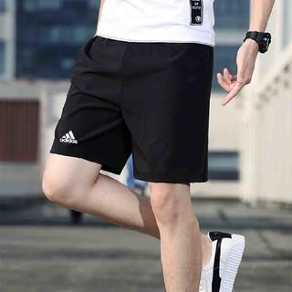 adidas 阿迪达斯 2021春季新款阿迪达斯男子短裤透气宽松休闲裤跑步运动五分裤