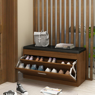ST多功能北欧换鞋凳翻斗鞋柜家用门口可坐鞋柜