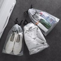 kavar 米良品 防水透明抽绳束口袋 10个装