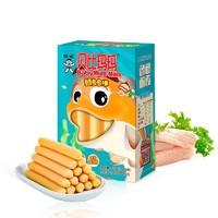 贝比玛玛  旺旺旗下 鳕鱼鱼棒 宝宝零食儿童火腿小香肠 240g