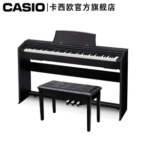 CASIO 卡西欧 PX系列 PX-770 电钢琴 88键重锤 黑色