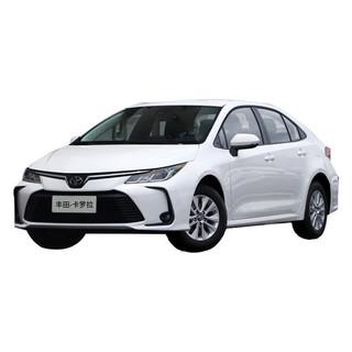 TOYOTA 丰田 一汽丰田卡罗拉2021款1.2T S-CVT先锋PLUS版宜买车汽车