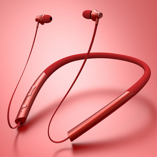 DDJ  苹果蓝牙耳机iPhone8 X 7 6S无线耳机双耳运动 红色