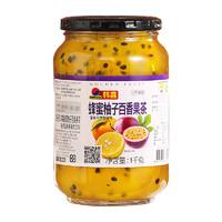 韓馫 韓國進口 蜂蜜柚子茶 沖調茶飲 柚子百香果茶1000g