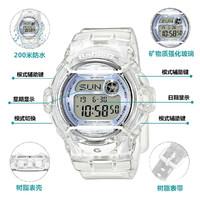 CASIO 卡西欧 卡西欧手表BABY-G系列多功能防水运动女士手表