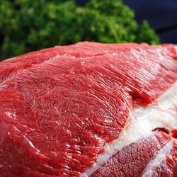 鸿安 原切牛后腿肉 2斤
