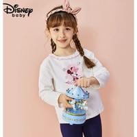 Disney baby 女童薄款儿童打底衫