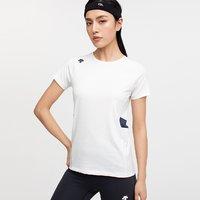 DESCENTE 迪桑特 WOMENS LINE 环保亚麻面料女子短袖T恤D0232RTS02