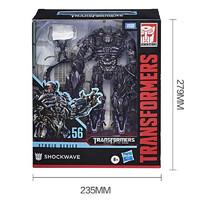 Transformers 变形金刚 孩之宝(Hasbro)变形金刚 男孩儿童手办玩具礼物 经典电影领袖级系列 SS56 震荡波 E7311(定制)