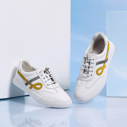 Tata 他她 Tata他她2021春专柜同款百搭平底板鞋舒适小白鞋休闲鞋女