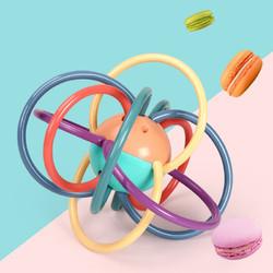 丹米琦 曼哈顿球婴儿玩具0-1岁摇铃婴儿牙胶手抓球安抚奶嘴磨牙棒咬咬乐可水煮消毒六一儿童节礼物