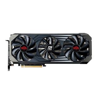 POWERCOLOR 撼讯 撼讯(PowerColor)Radeon RX6700XT 红魔 12GB GDDR6 AMD 7nm 高频游戏显卡 三风扇七热管 游戏显卡