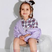 balabala 巴拉巴拉 巴拉巴拉童装女童外套夏儿童薄款防晒衣抗UV小童上衣