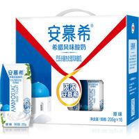PLUS会员:yili 伊利 酸牛奶 205g*16盒箱