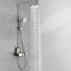 Klash 佳勒仕 淋浴花洒套装 银色