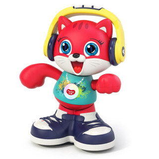Huile TOY'S 汇乐玩具 HUILE汇乐跳舞猫咪摇摆鹅锂电版1岁宝宝会唱歌跳舞说话婴幼儿童网红早教益智音乐电动玩具3岁男女孩 跳舞猫