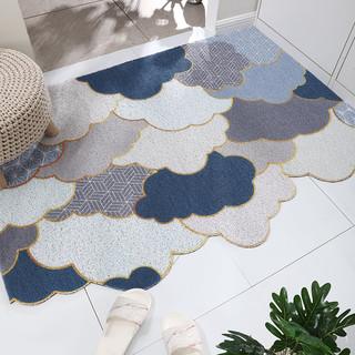 BULULOM 布鲁罗曼 入户地垫可裁剪网红丝圈门垫进门耐磨脚垫家用户外垫子大门口地毯
