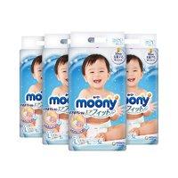 10点开始、黑卡会员:moony 婴儿纸尿裤 L 54片 4包