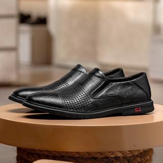 Leaveland 枫叶 A20A27401 男士商务皮鞋