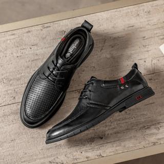 Leaveland 枫叶 A20A27601 男士商务皮鞋