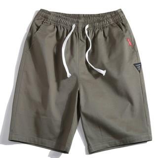 (服饰)男士纯棉短裤