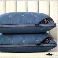 PLUS会员:梦多福 可水洗羽丝绒枕芯 1150g 一对装