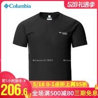Columbia 哥伦比亚  哥伦比亚Columbia户外运动跑步男装清凉速干衣透气短袖T恤AE1307