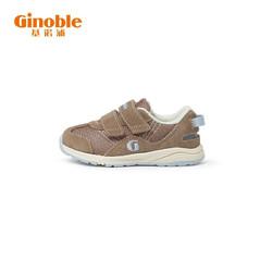 Ginoble 基诺浦 基诺浦 学步鞋 2021春季 1岁半-5岁宝宝机能鞋 男女童鞋 TXG1022 灰棕/宝宝蓝 150