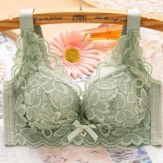 内衣女无钢圈聚拢小胸加厚性感胸罩调整型收副乳防下垂文胸套装