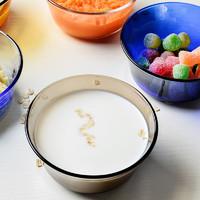 DURALEX 多莱斯 多莱斯法国钢化玻璃小碗微波炉饭碗蒸蛋宝宝碗250ml 2只装 茶色2只
