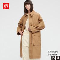 UNIQLO 优衣库  女款全棉长大衣 433648