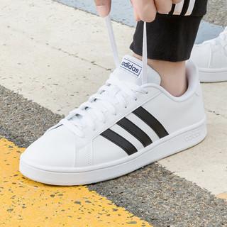 adidas 阿迪达斯 春季新款男女款低帮运动休闲鞋 情侣鞋 小白鞋 板鞋