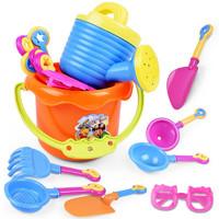 tongli 童励 儿童沙滩玩具 9件套