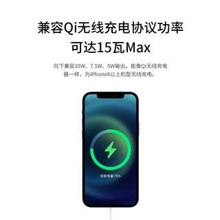 iPhone12Magsafe磁吸无线充电器头PD磁吸式magesafe苹果专用15W快充ProMax20配件xs手机8适用11冲xr
