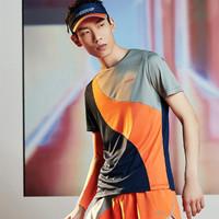 XTEP 特步 特步XTEP 流灵系列 时尚百搭短袖T恤男式T恤